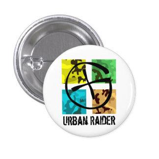 Geocaching Urban Raider pin