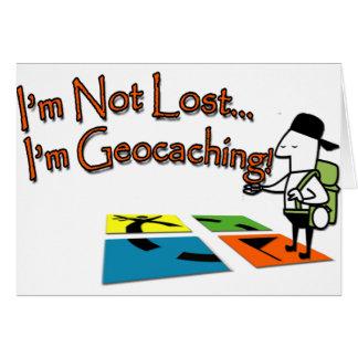 Geocahing Greeting Card