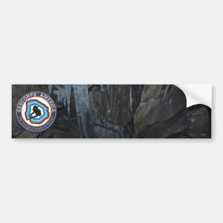 GeoCorps America - Caves & Karst Bumper Sticker