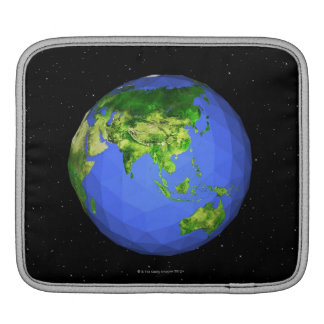 Geodesic Globe in Space iPad Sleeve