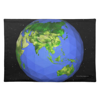 Geodesic Globe in Space Placemat