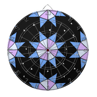 Geodesic Star Wheels Dartboard
