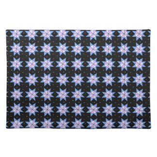 Geodesic Star Wheels Placemat