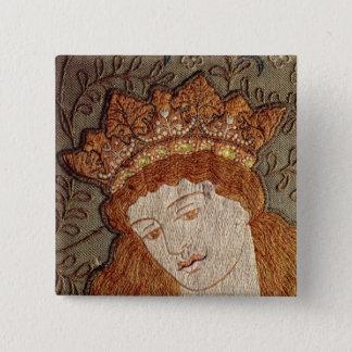 Geoffrey Chaucer's 'Legend of Good Women' 15 Cm Square Badge