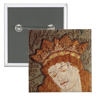 Geoffrey Chaucer's 'Legend of Good Women' 15 Cm Square Badge