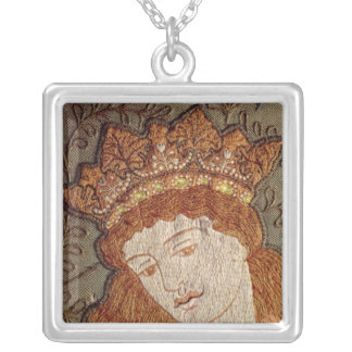 Geoffrey Chaucer's 'Legend of Good Women' Silver Plated Necklace