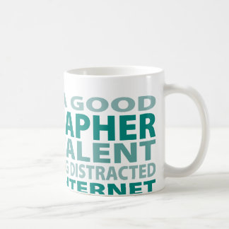 Geographer 3% Talent Classic White Coffee Mug