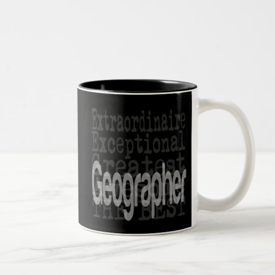 Geographer Extraordinaire Two-Tone Coffee Mug