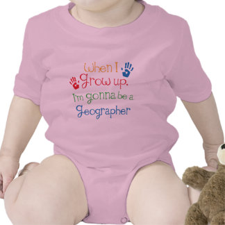 Geographer (Future) Child Rompers