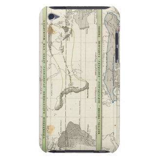 Geographical Distribution iPod Touch Case