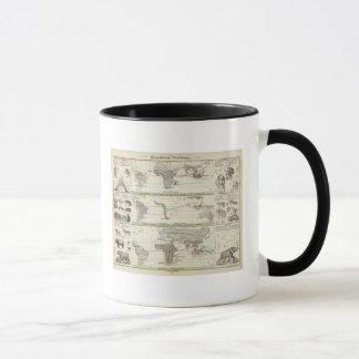 Geographical Distribution Mug