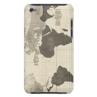 Geographical Distribution of Vegetation Case-Mate iPod Touch Case