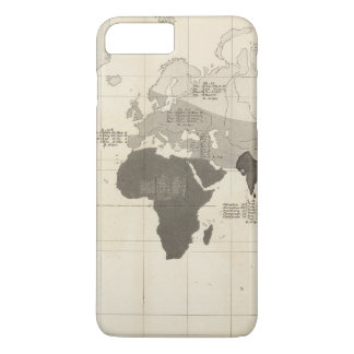 Geographical Distribution of Vegetation iPhone 8 Plus/7 Plus Case
