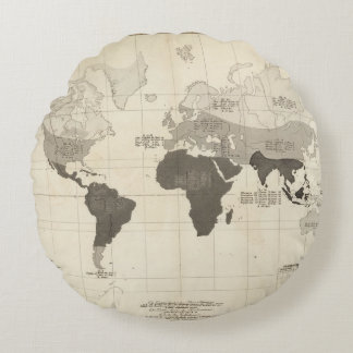 Geographical Distribution of Vegetation Round Cushion