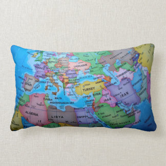 Geographical Lumbar Cushion