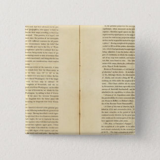 Geographical Memoir 15 Cm Square Badge