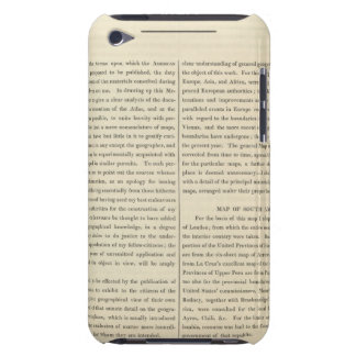 Geographical Memoir 4 Case-Mate iPod Touch Case