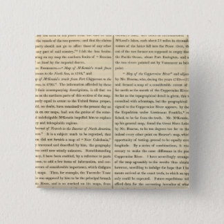 Geographical Memoir continued 3 15 Cm Square Badge