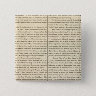 Geographical Memoir continued 4 15 Cm Square Badge