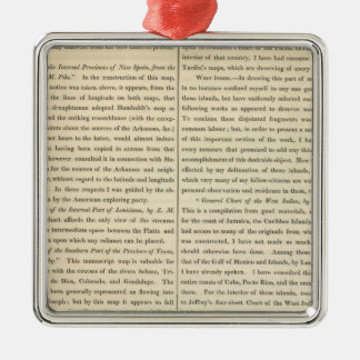 Geographical Memoir continued 4 Christmas Ornament