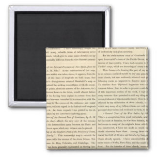 Geographical Memoir continued 4 Magnet
