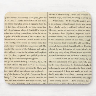 Geographical Memoir continued 4 Mouse Mat