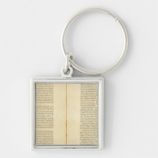 Geographical Memoir Key Ring