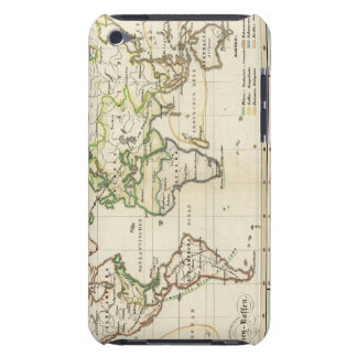 Geographical spread of the human race iPod touch case