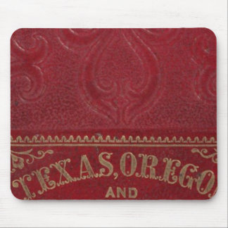 Geographical view of Texas Mouse Mat