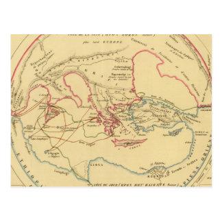 Geographie des Grecs Primitive Postcard