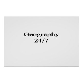 Geography 24/7 poster