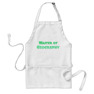 Geography Standard Apron