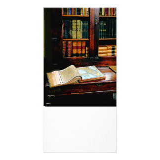 Geography Book Photo Greeting Card