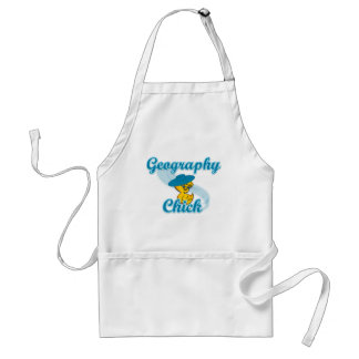 Geography Chick #3 Standard Apron