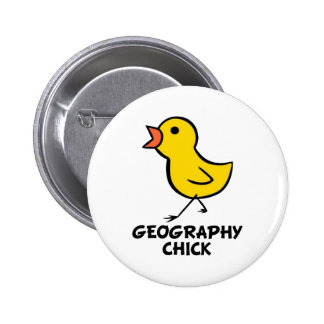 Geography Chick Pins