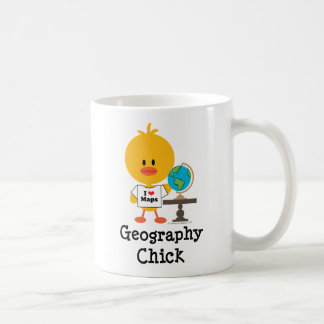 Geography Chick Mug