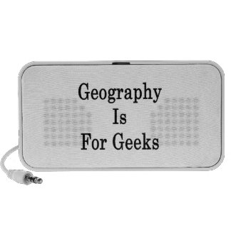 Geography Is For Geeks Mp3 Speakers
