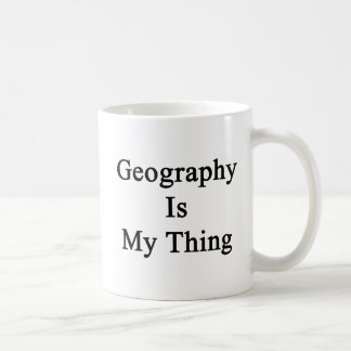 Geography Is My Thing Coffee Mug