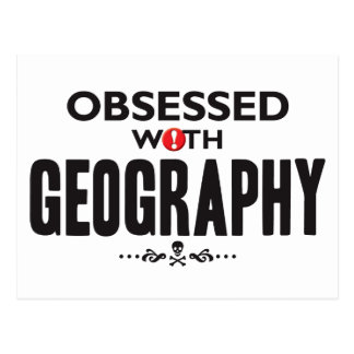 Geography Obsessed Postcard
