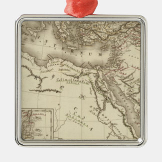Geography of Hebrews Christmas Ornament