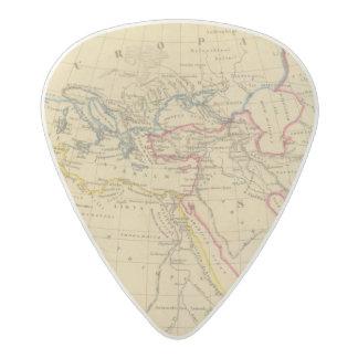 Geography of Herodotus Acetal Guitar Pick