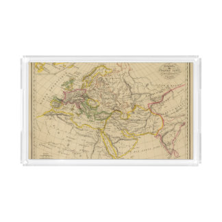 Geography of the Middle Ages Acrylic Tray