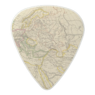 Geography of the Middle Ages Acetal Guitar Pick