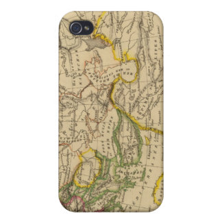 Geography of the Middle Ages iPhone 4/4S Cases