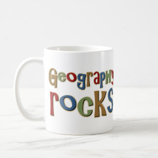 Geography Rocks Coffee Mug