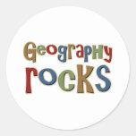 Geography Rocks Sticker