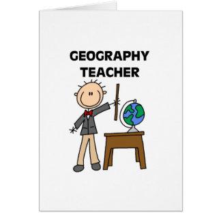 Geography Teacher Cards