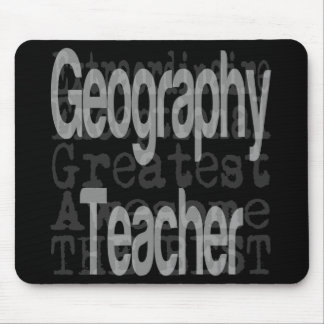 Geography Teacher Extraordinaire Mouse Mat