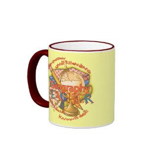 Geography Teacher Motto Coffee Mugs