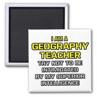 Geography Teacher Superior Intelligence Magnets